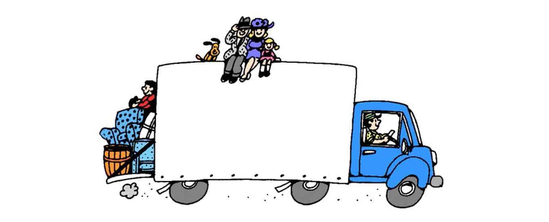 Camions de mudança