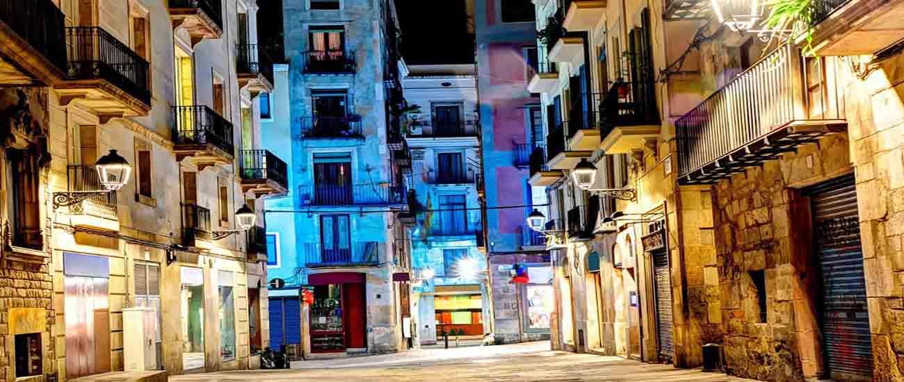 Mudances amb grua a Barcelona